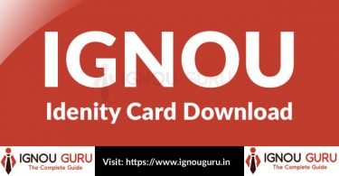 IGNOU Identity Card